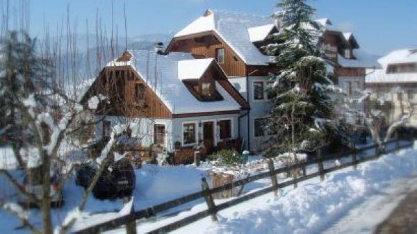 Fischerhaus im Winter